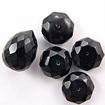 CZ Stones Black Round Beads China Wholesale Supplier