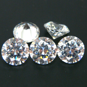 White Clear Colored Cubic Zirconia Stones China Wholesale