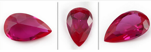 Synthetic_Ruby_5#_Pear_Shape_Stones_China