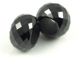 Black-Colored-CZ-Faceted-Beads-with-drilled-big-holes