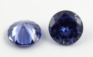 Cubic-Zirconia-Tanzanite-Blue-Color-Round-Gemstones-China-wholesale