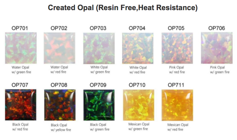 Created-Opal-(Resin Free-Heat Resistance)