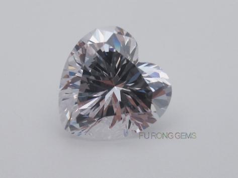 Best-5A-Quality-Cubic-Zirconia-Heart-Shape-10x10mm-Gemstones-wholesale