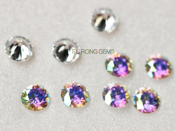 Color-Rainbow-Effect-White-Cubic-Zirconia-AB-Color-Round-stones-supplier