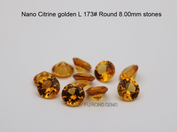 nano-citrine-golden-Yellow-173#-color-round-8.00mm-stones-china